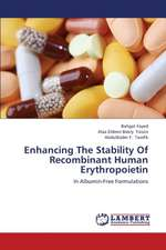 Enhancing The Stability Of Recombinant Human Erythropoietin