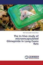 The In-Vivo study of microencapsulated Glimepiride In Long Evans Rats