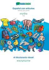 BABADADA, Español con articulos - Thai (in thai script), el diccionario visual - visual dictionary (in thai script)