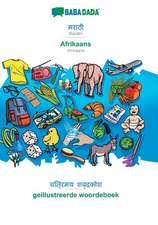 BABADADA, Marathi (in devanagari script) - Afrikaans, visual dictionary (in devanagari script) - geillustreerde woordeboek