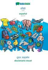 BABADADA, Hindi (in devanagari script) - español, visual dictionary (in devanagari script) - diccionario visual