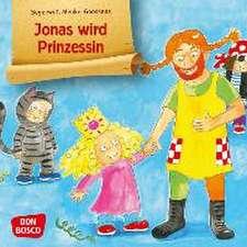 Jonas wird Prinzessin. Mini-Bilderbuch.