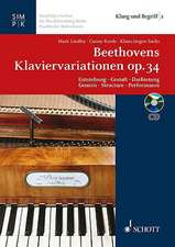 Beethoven's Variations for Piano Op. 34:  Escapades with the Berlin State Ballet