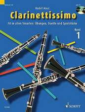 Clarinettissimo Vol. 1 Book/CD:  For Clarinet Solo and Duet