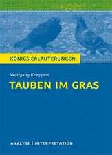 Tauben im Gras. Textanalyse und Interpretation
