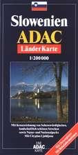 ADAC LänderKarte Slowenien 1 : 200 000