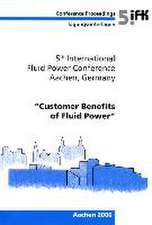 5th International Fluid Power Conference (5th IFK) (Volume 2)