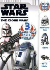 Star Wars The Clone Wars Bastelmodelle