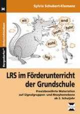 LRS im Förderunterricht der Grundschule