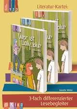 """KidS Literatur-Kartei: """"Wer ist Lolly_blu?"""" 3-fach differenzierter Lesebegleiter"""