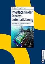 Interfaces in der Prozessautomatisierung