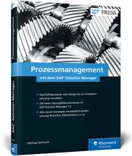 Prozessmanagement mit dem SAP Solution Manager