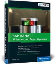 SAP HANA - Sicherheit und Berechtigungen