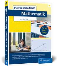 Fit fürs Studium - Mathematik