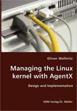 Managing the Linux kernel with AgentX
