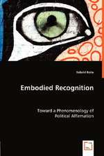 Embodied Recognition