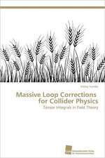 Massive Loop Corrections for Collider Physics