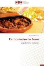 L'Art Culinaire Du Souss:  Cas Du Riz de Kovie Au Togo
