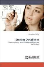 Stream Databases