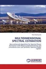 Multidimensional Spectral Estimation