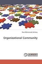 Organizational Community