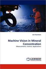 Machine Vision in Mineral Concentration