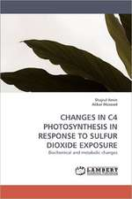 Changes in C4 Photosynthesis in Response to Sulfur Dioxide Exposure