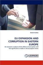 Eu Expansion and Corruption in Eastern Europe