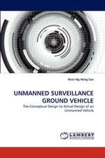 Unmanned Surveillance Ground Vehicle