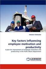 Key factors influencing employee motivation and productivity