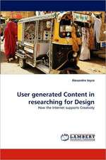 User generated Content in researching for Design