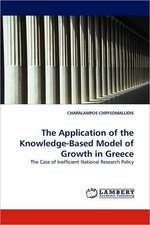 The Application of the Knowledge-Based Model of Growth in Greece