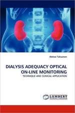 Dialysis Adequacy Optical On-Line Monitoring