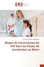 Risque de Transmission Du Vih Dans Les Postes de Transfusion Au Benin:  2000 Sur La Performance Financiere