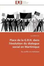 Place de La G.R.H. Dans L'Evolution Du Dialogue Social En Martinique:  Apparition D'Especes Emergentes Et Lutte Antifongique