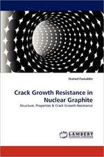Crack Growth Resistance in Nuclear Graphite