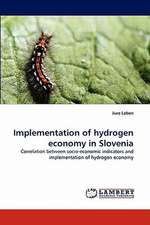 Implementation of hydrogen economy in Slovenia
