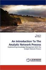 An Introduction To The Analytic Network Process