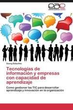 Tecnologías de información y empresas con capacidad de aprendizaje