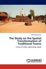 The Study on the Spatial Transformation of Traditional Towns