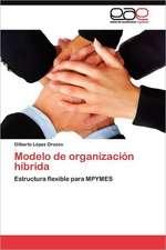 Modelo de Organizacion Hibrida:  Una Relacion Encubierta.