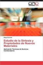 Estudio de La Sintesis y Propiedades de Nuevos Materiales:  Anexos