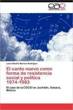 El Canto Nuevo Como Forma de Resistencia Social y Politica 1974-1983:  Condiciones de Vida y Politicas Publicas