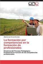 La Formacion Por Competencias En La Formacion de Profesionales:  Hacia Una Epica Posmoderna