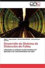 Desarrollo de Sistema de Deteccion de Fallas:  1935-1937