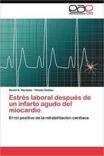 Estres Laboral Despues de Un Infarto Agudo del Miocardio:  Recuperacion de Solvente