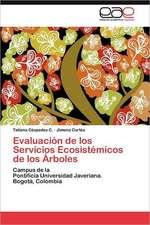 Evaluacion de Los Servicios Ecosistemicos de Los Arboles:  Inadaptacion, Moldes Mentales y Educacion Familiar