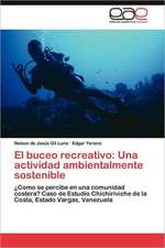 El Buceo Recreativo:  Una Actividad Ambientalmente Sostenible
