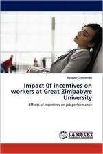 Impact 0f incentives on workers at Great Zimbabwe University