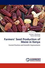 Farmers' Seed Production of Maize in Kenya
